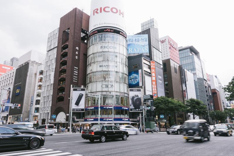 C&W、東京リテール、銀座など賃料減<br>―訪日客減で明暗、公園兼商業の新業態も