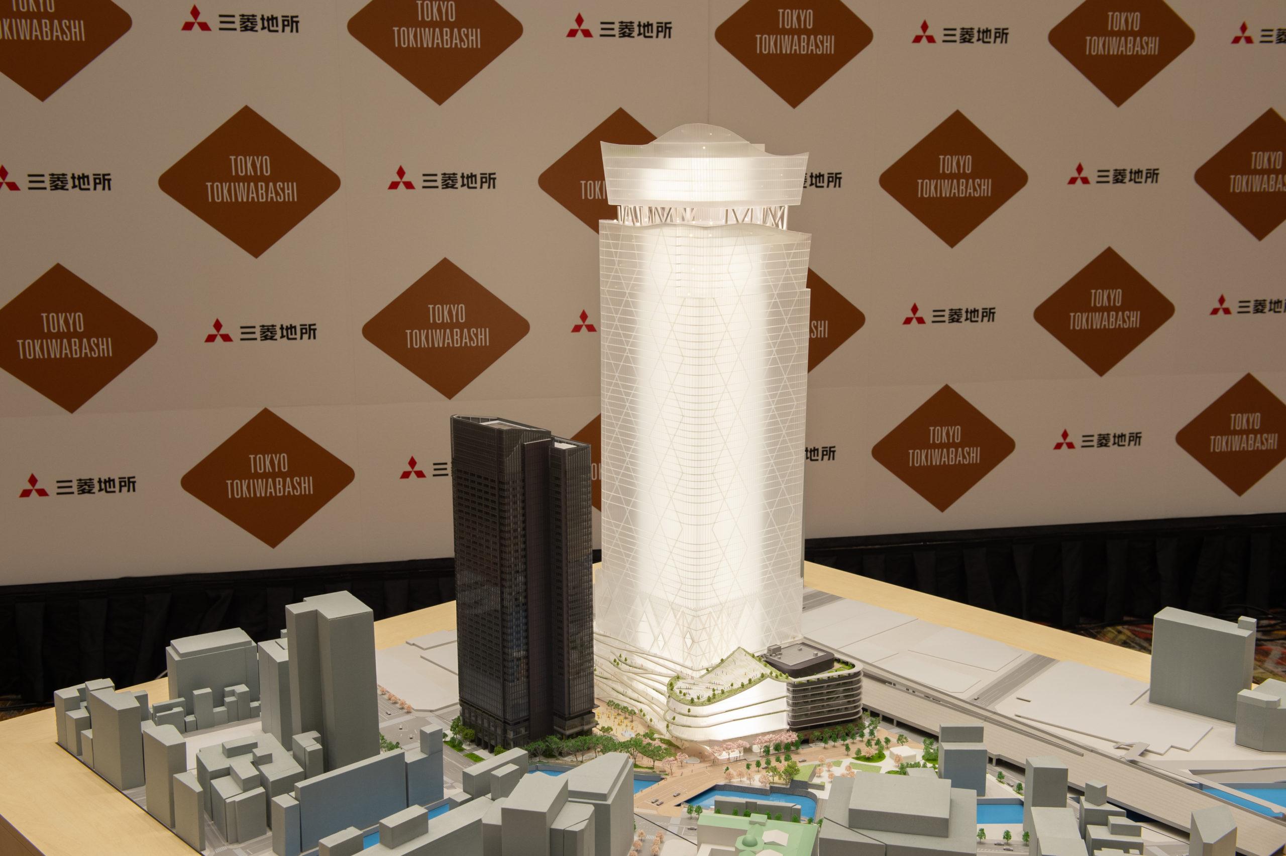 常盤橋プロジェクトの名称は「トウキョウトーチ」<br>―三菱地所、新常態見据え2haの屋外空間整備