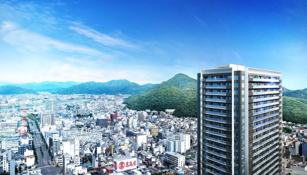 大京と大和ハウス工業、岐阜最大の超高層複合再開発マンション ―総戸数335戸、