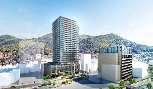 大京ら5社、長崎県最大規模のタワーマンション「新大工町」