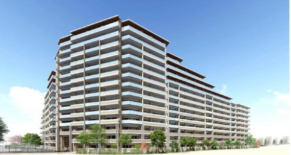 野村不、単棟型では都内最大の建て替え<br>―マンション建替え円滑化法で369戸