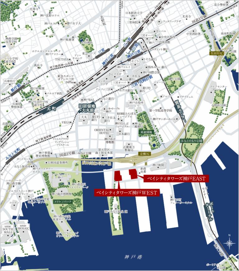 住友不ら、神戸港に700戸のタワマン―住宅、商業、業務、文化の複合再開発