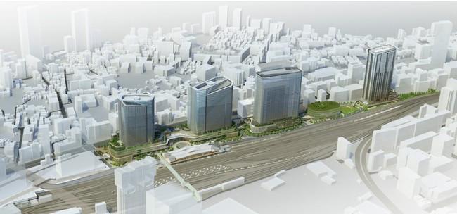 JR東とKDDI、空間自在PJで連携―品川開発を核に日本各地の開発を共同で
