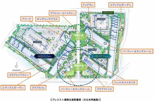 大和ハウス、「プレミスト湘南辻堂」が完成―分譲レジ2棟構成、第2街区も販売開始