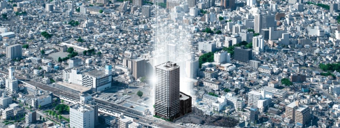 JR前橋駅にタワーマンション203戸、100㎡超のプレミアム住戸も―東京建物・ファーストコーポレーション