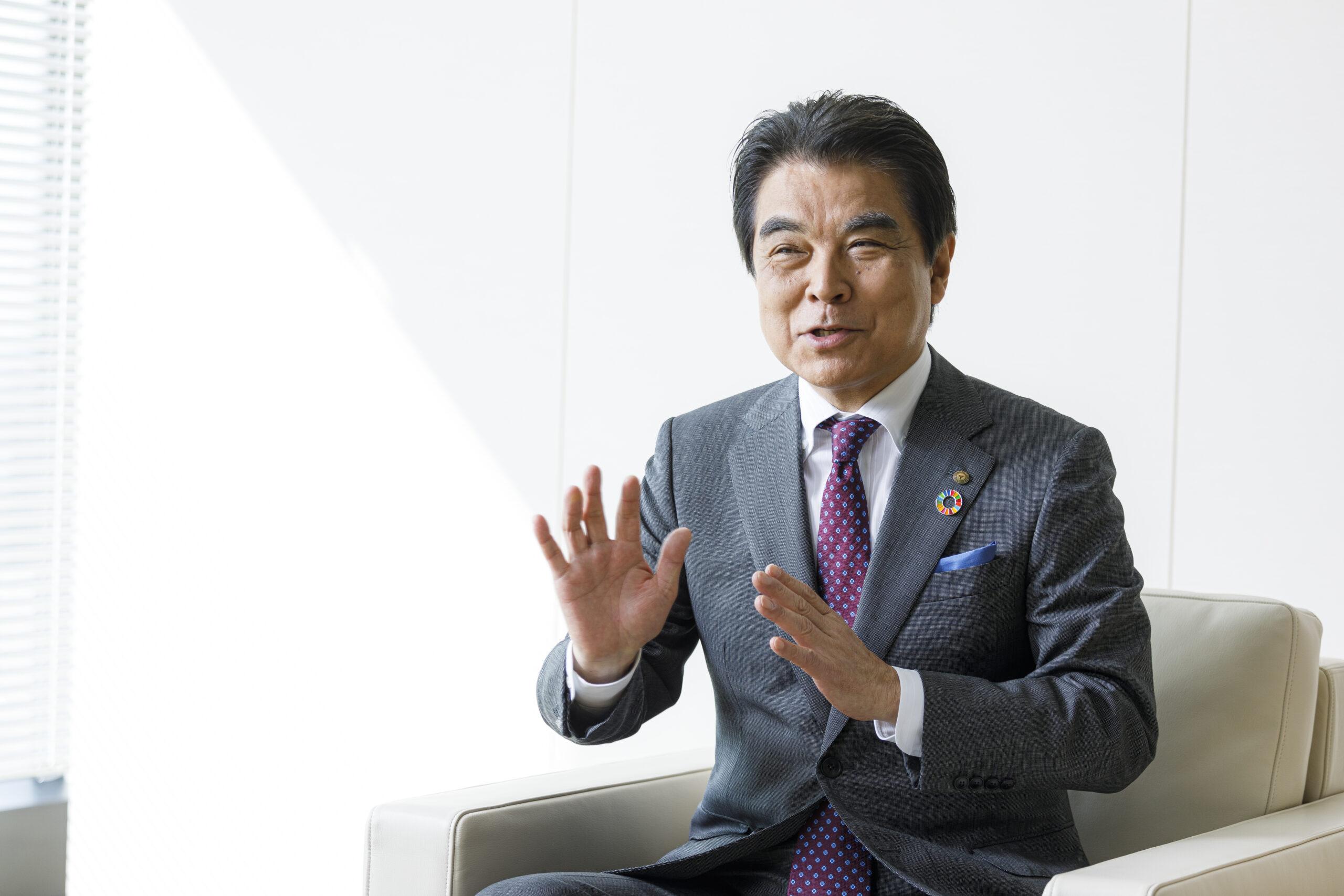 トップインタビュー・岡田東急不動産社長 再生エネを主力事業の1つに、テナント供給も ―再開発の戦略エリアは広域渋谷圏と湾岸