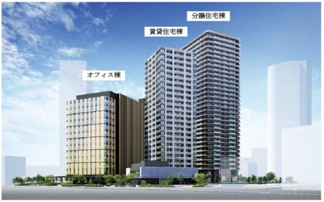 JR東日本Gと野村不動産、西五反田で複合開発
