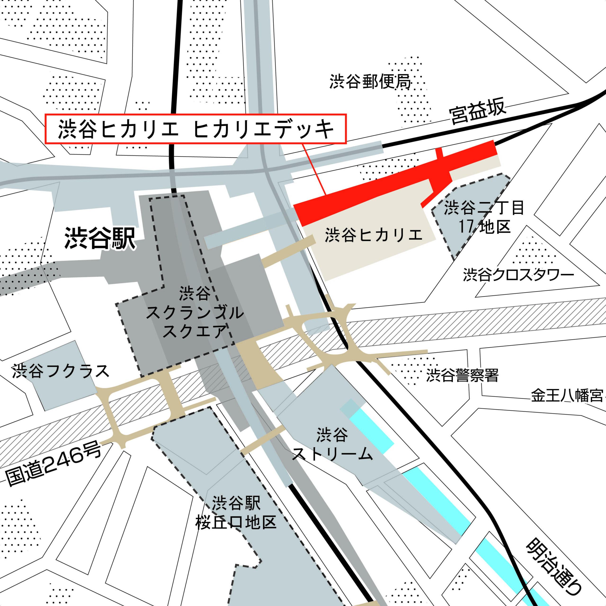 渋谷駅東口の歩行者ネットワークが拡充ー渋谷スカイウェイの一部が7月先行開業へ