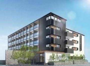三井ホーム、稲城市で木造ZEHマンションを上棟