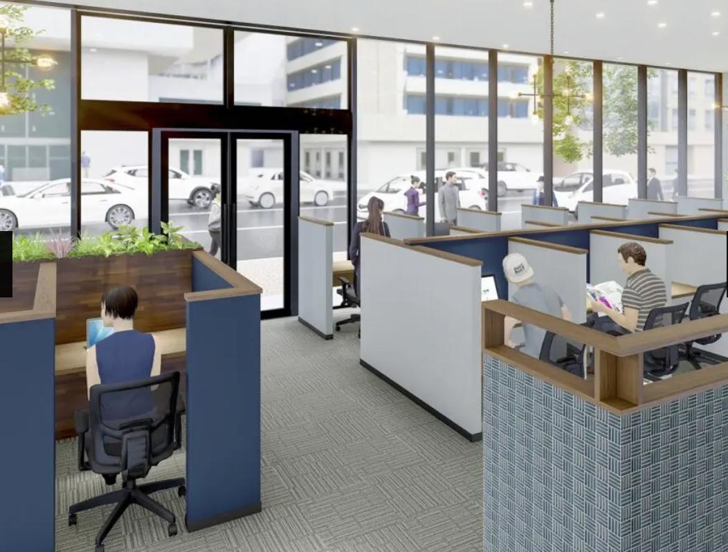 シェアオフィスのWOOC、札幌に670㎡新店舗で北海道初進出ー京阪電鉄の新ビル「THE PEAK SAPPORO」1階に入居