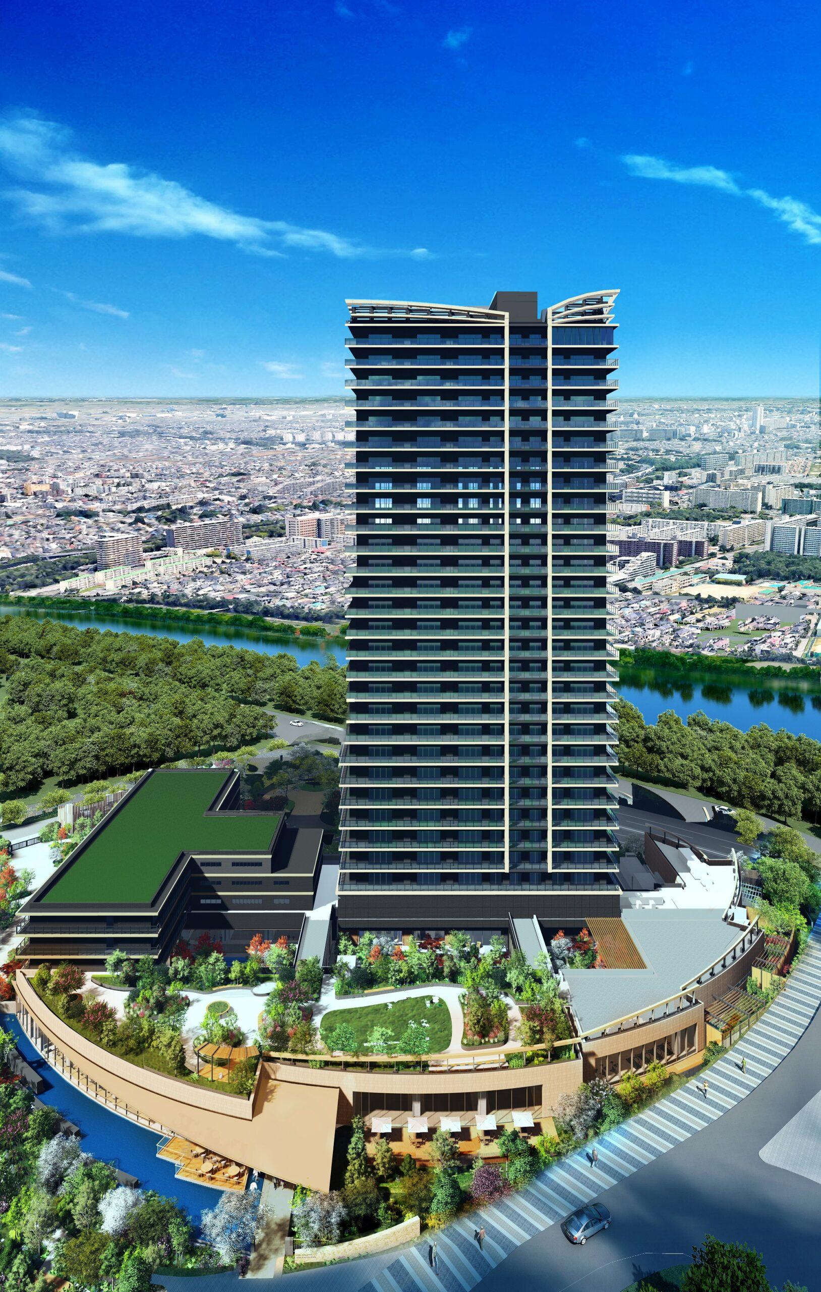 三井不動産レジデンシャル、首都圏最大級のシニアマンション   -海浜幕張に617室の免震タワー物件